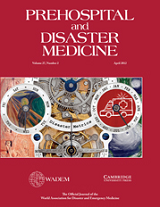 prehospital-and-disaster-medicine